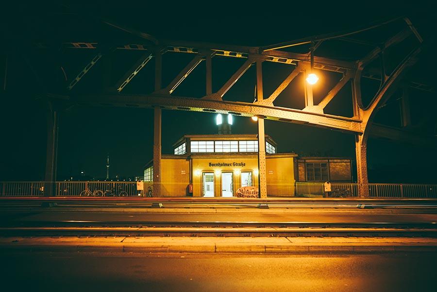 Cross The Bösebrücke - Bornholmerstrasse Station - Berlin Experiences