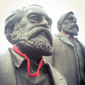 Berlin Experiences - Cold War - Marx and Engels