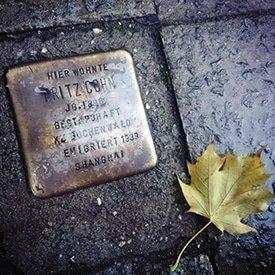 Berlin Experiences - Jewish Berlin - Stolpersteine Cohn
