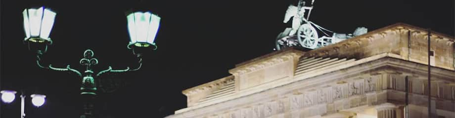 Berlin Experiences - Berlin Highlights Tour - Brandenburg Gate at Night