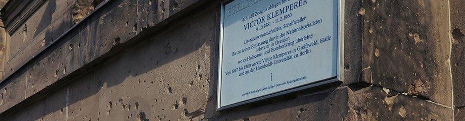 Berlin Experiences - Third Reich Tour - Victor Klemperer