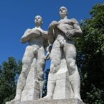 Third Reich Tour Olympic Stadium Statues
