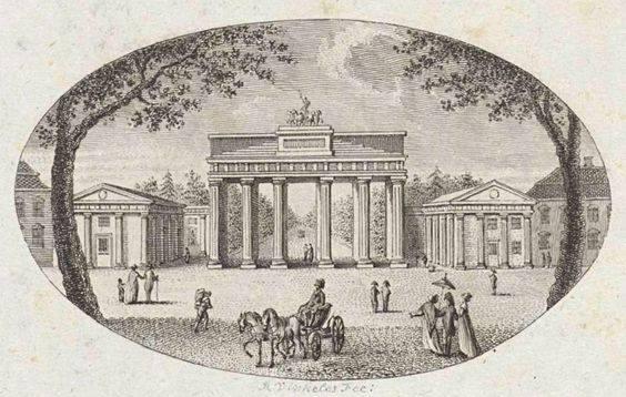 Brandenburg Gate 1791