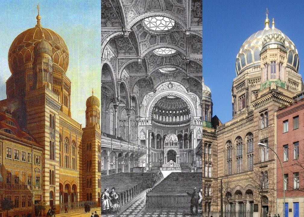Neue Synagoge Berlin Opens 1866