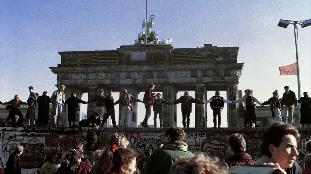 Brandenburg Gate and the Fall of the Berlin Wall