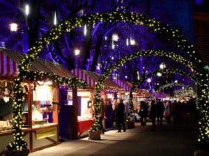 The Potsdamer Platz Berlin Christmas Market