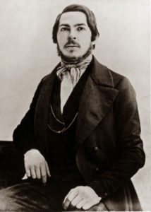Young Friedrich Engels