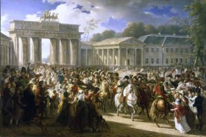 Napoleon Arrives In Berlin - 1806