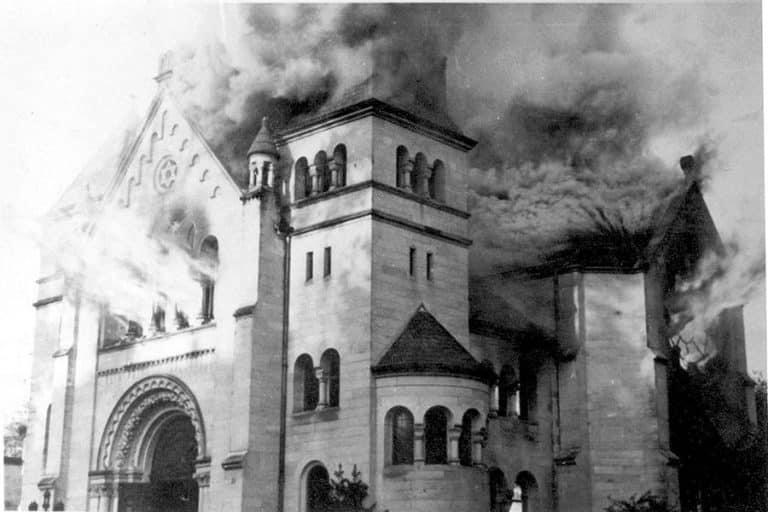 Reichskristallnacht - November 9th 1938 - The Schicksalstag