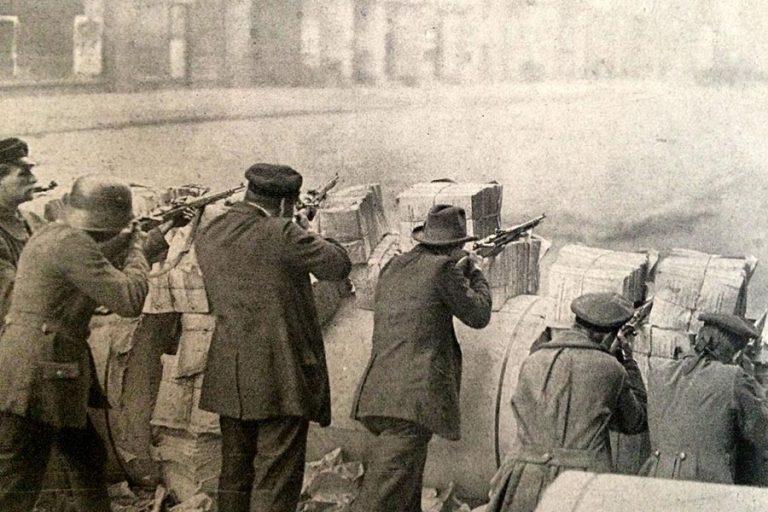 Revolution on the streets of Berlin - 1918 - The Schicksalstag