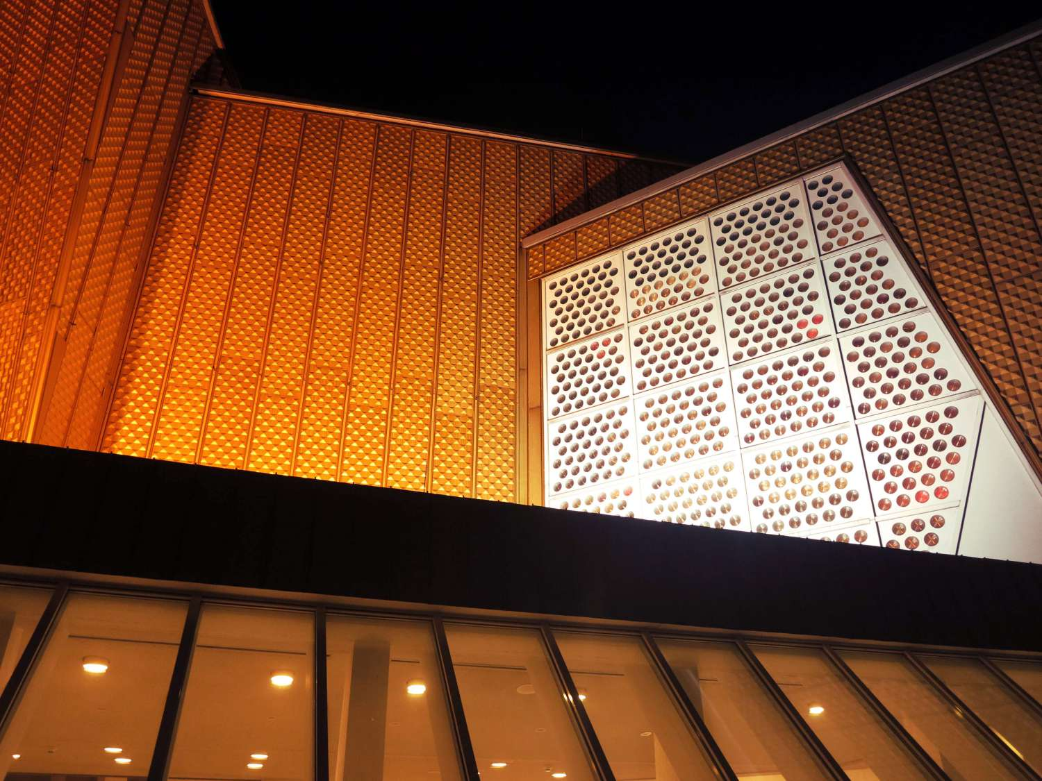 Berliner Philharmonie Side Detail One