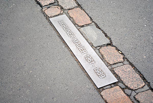The Mauerweg - Tracing the path of the Berlin Wall