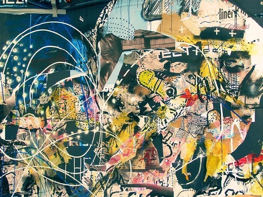 Graffiti on the Berlin Wall