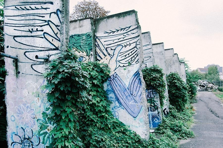 Abandoned Piece of the Berlin Wall
