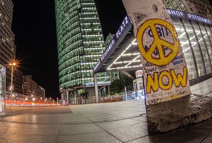 Berlin Wall at Potsdamer Platz