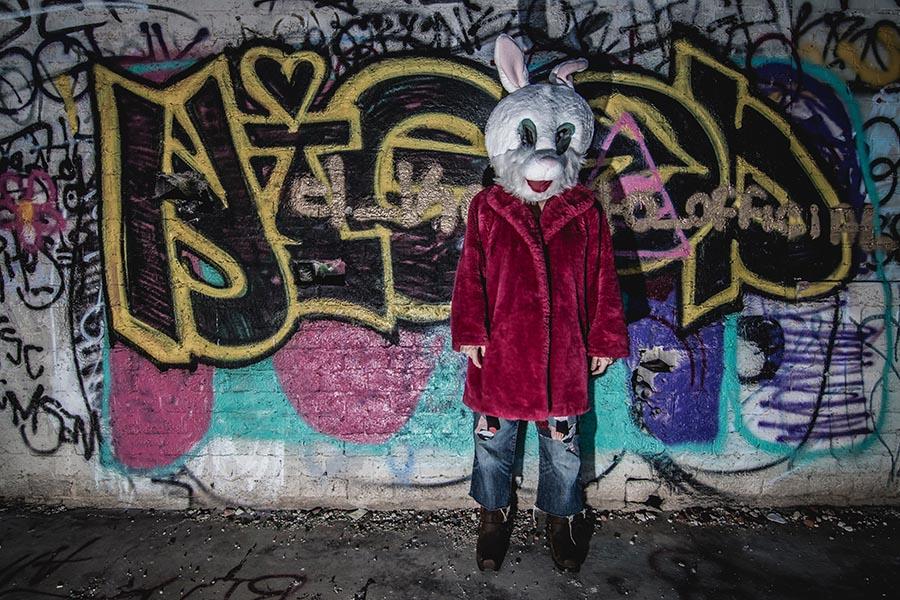 Berlin Wall Rabbits - Mauerhase