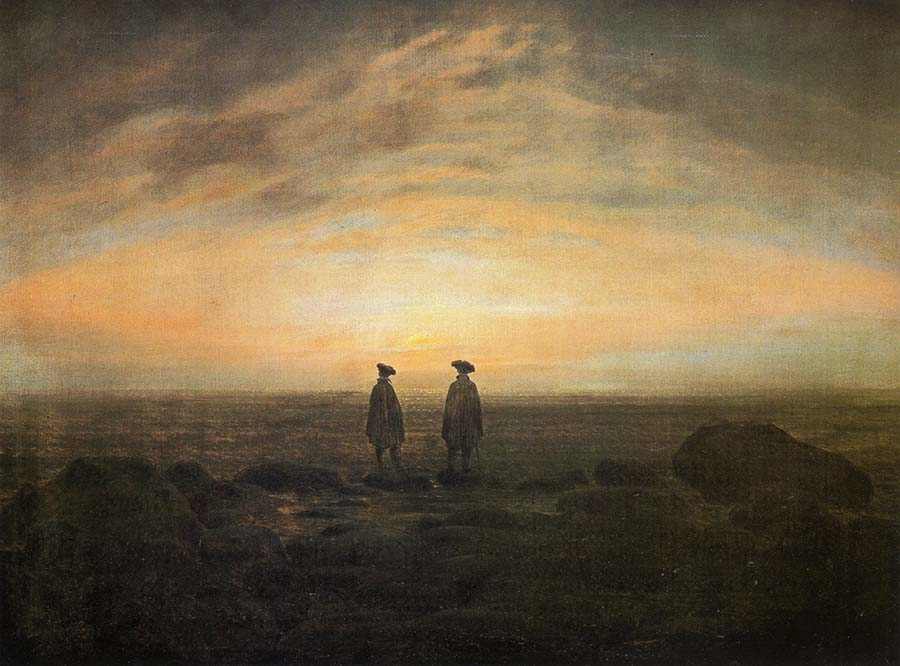 Berlin Museums - Caspar David Friedrich