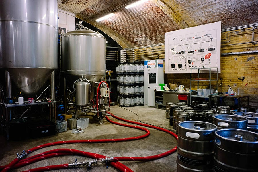 Berlin Experiences - Beyond Two Beers - Brewery Equipment
