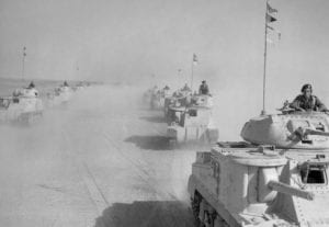 5th Royal Tank Regiment in Africa - Notably Absent From the British Victory Parade