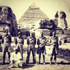 7th Armoured Desert Rats in Egypt - Who Would Lead The British Victory Parade in 1945
