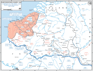 World War Two Situation in France on June 4th 1940