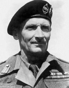 ield Marshal Bernard Montgomery - Hero of the British Victory Parade