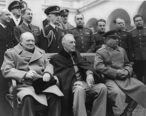 Yalta Conference 1945 - Stalin, Churchill and Roosevelt