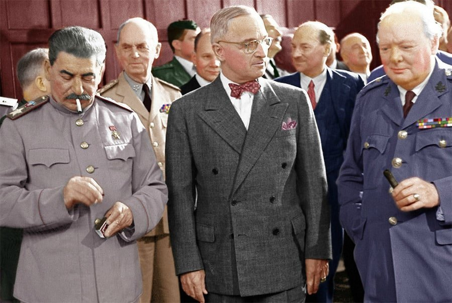 Berlin Experiences - The Potsdam Conference - The Big Three