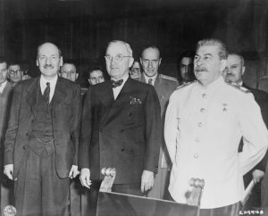 Truman, Stalin and Attlee