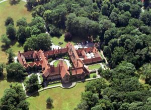 Birdseye view of Potsdam Cecilienhof