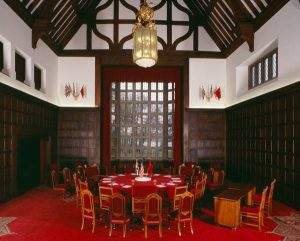 Main Conference Room of the Potsdam Conference at Cecilienhof Palace