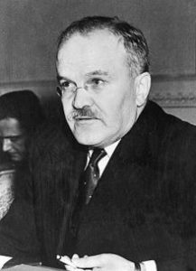 Soviet Foreign Minister Molotov