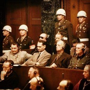 Nuremburg Trials 1945