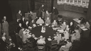 Potsdam Conference in session