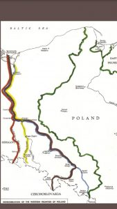 Polish Borders As Discussed at the Potsdam Conference