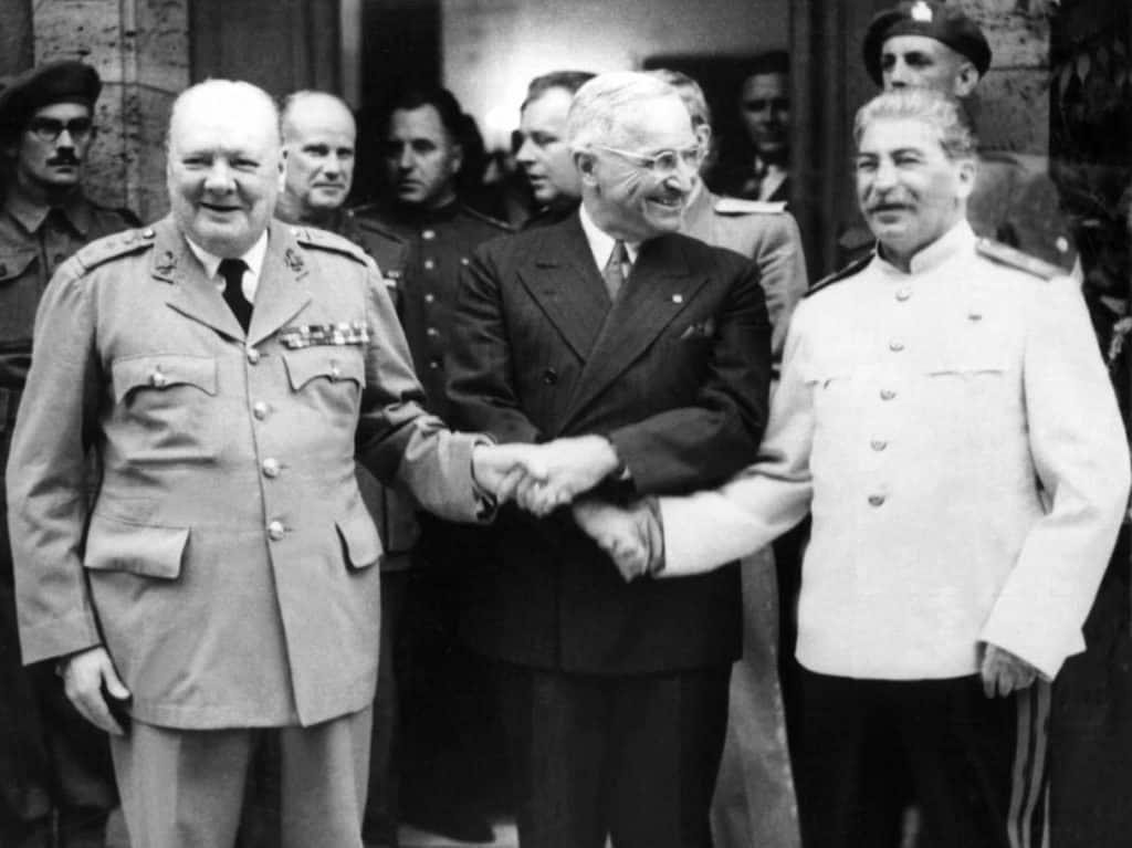 Potsdam Conference - Truman, Stalin, Churchill