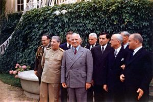 Potsdam Conference Group Photo