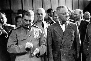 Stalin and Truman