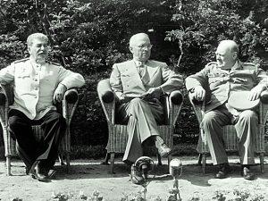 Stalin, Truman and Churchill