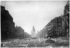 Berlin In Ruin - Kaiser Wilhem Gedachtniskirche
