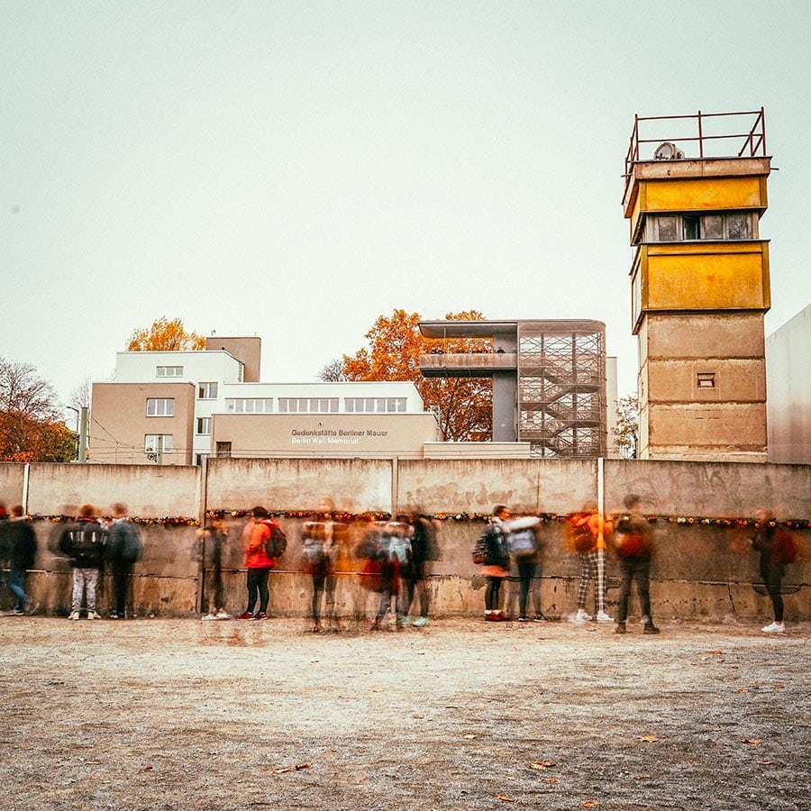 Berlin Experiences - The Bernauerstrasse Berlin Wall Memorial With Watchtower