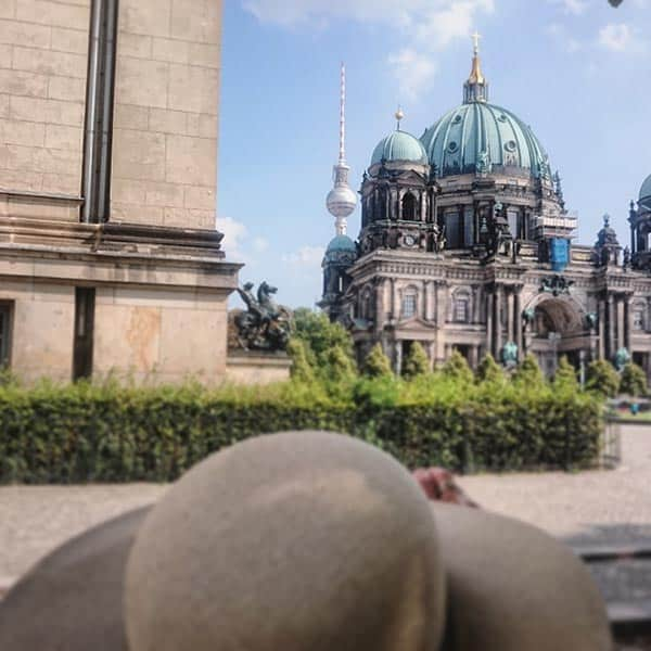 Berlin Highlights Tour - View Of The TV Tower And the Berliner Dom