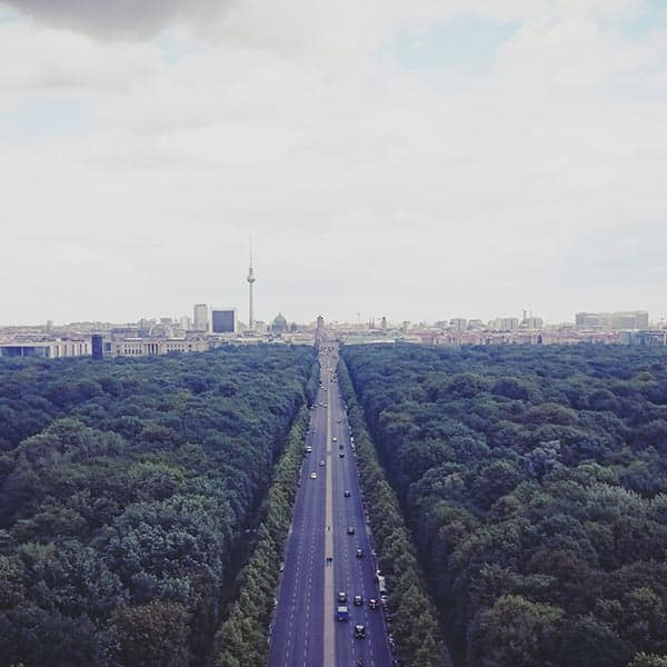 Berlin Highlights Private Tour - View From The Siegessaulle