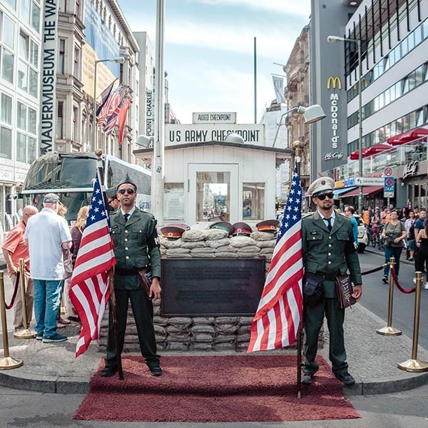 Cold War Tour Of Berlin - Checkpoint Charlie