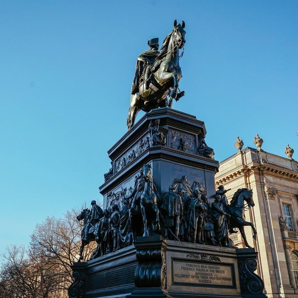 Frederick The Great on Unter den Linden In Berlin