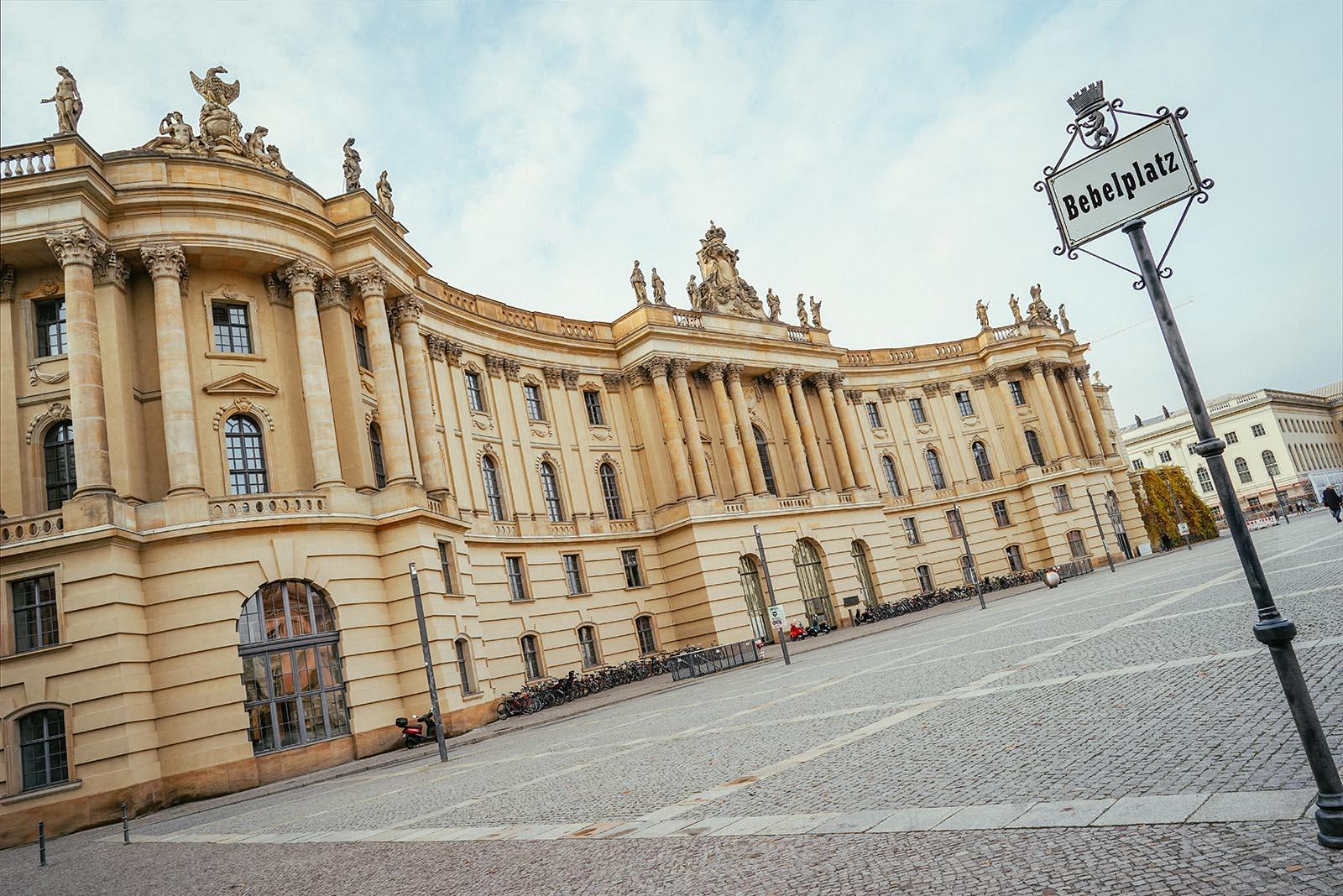 Bebelplatz In Berlin Mitte