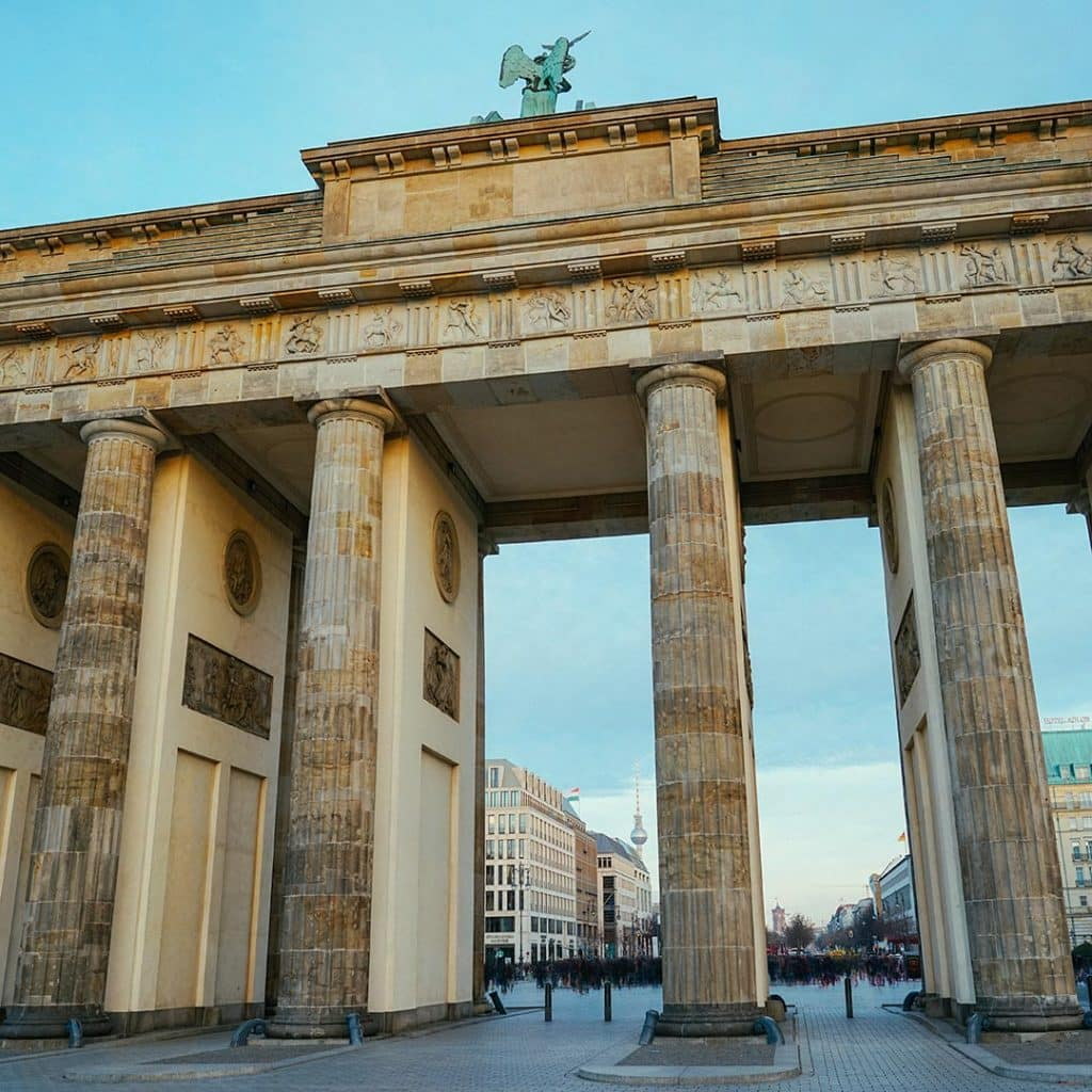 The Brandenburg Gate During The Day