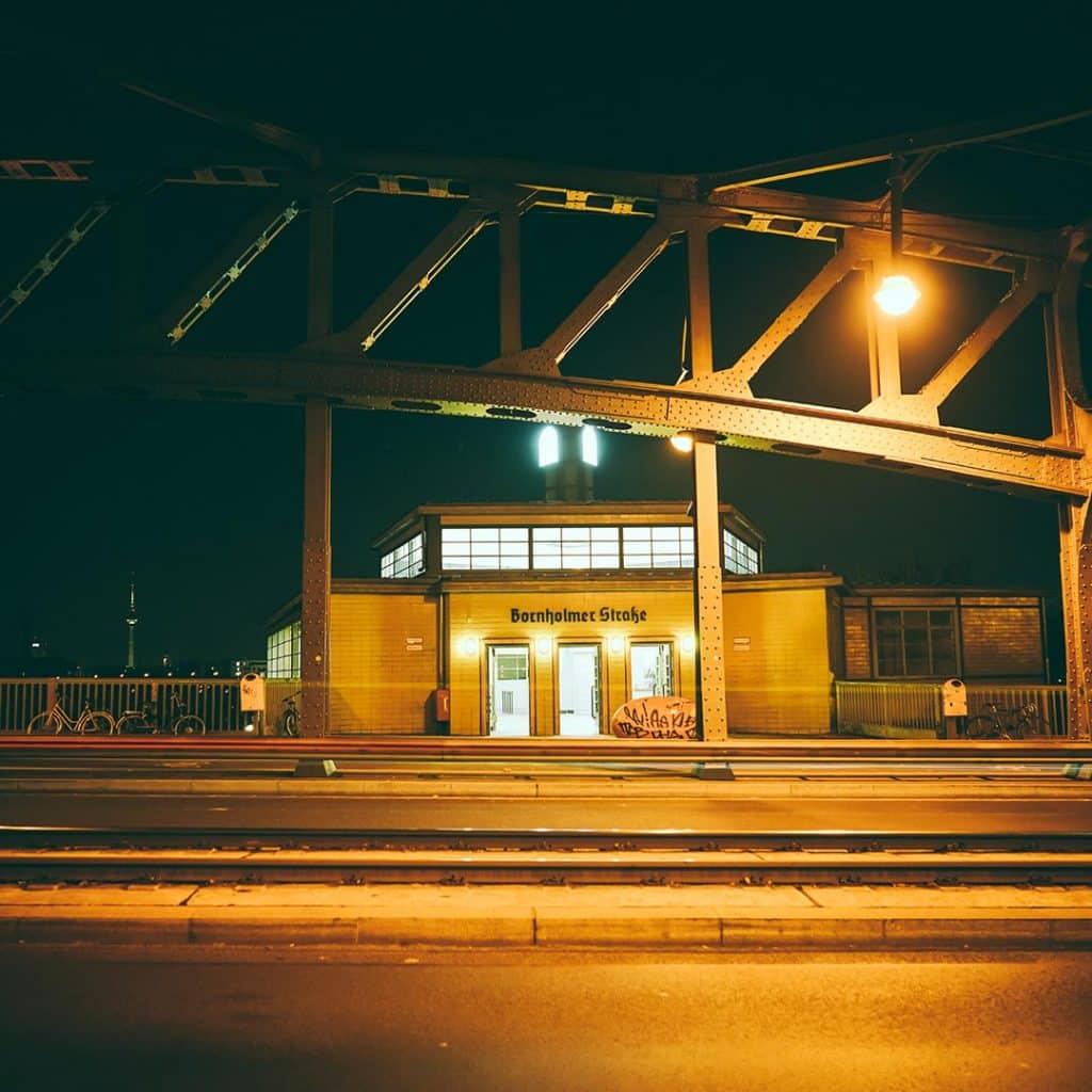 Bornholmerstrasse Station In Berlin
