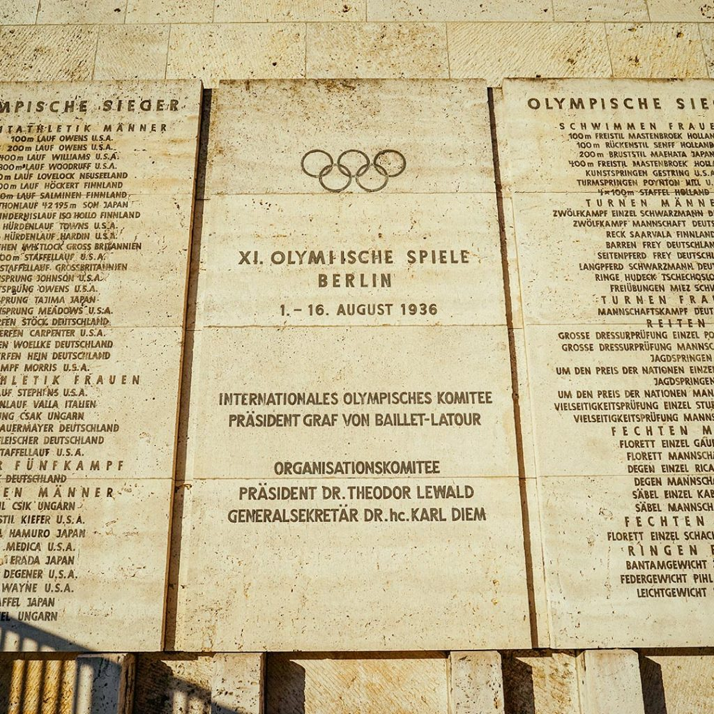 The 1936 Summer Olympics in Berlin
