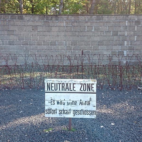 Sachsenhausen Memorial Tour - Perimeter Fence